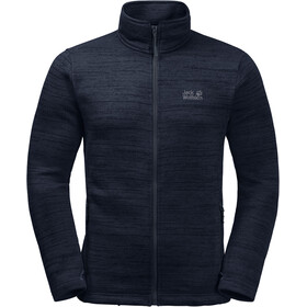 Jack Wolfskin Aquila Altis Giacca in pile Uomo, night blue